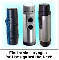 voice machine for throat cancer